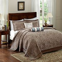 Madison Park 5-piece Whitman Jacquard Bedspread Set