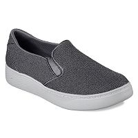 Skechers Super Cup Knit Twin Gore Women's Slip On Sneakers