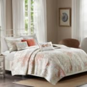 Madison Park 6-piece Abrego Coverlet Set