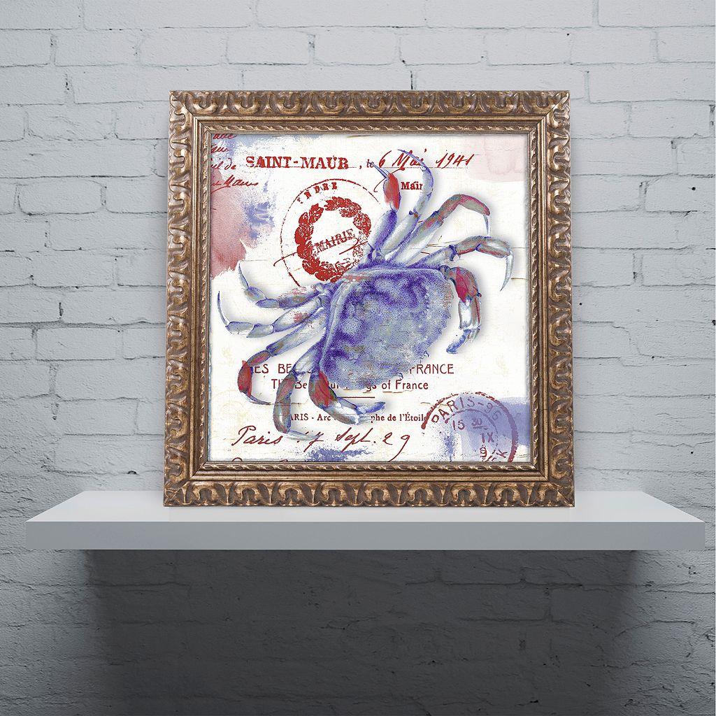 Trademark Fine Art Oceania I Ornate Framed Wall Art