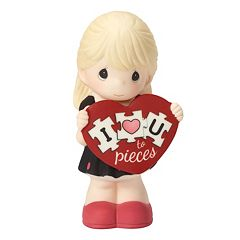 Precious Moments 'I Love You To Pieces' Girl Figurine