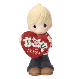 """Precious Moments """"I Love You To Pieces"""" Boy Figurine"""