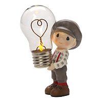 Precious Moments You Light Up My Life Light-Up Boy Figurine