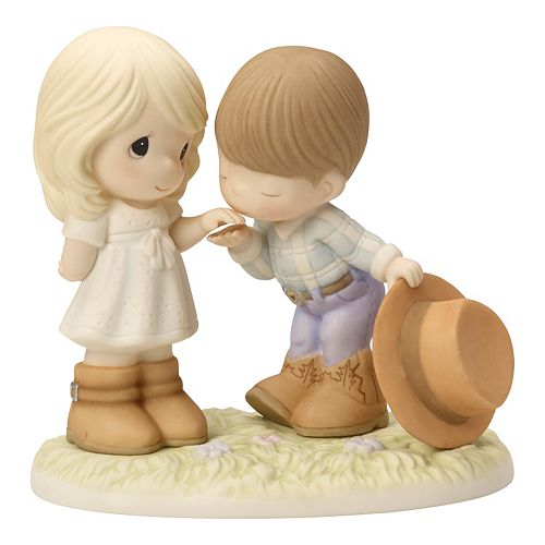 Precious Moments Would You Be My Partner Couple Figurine