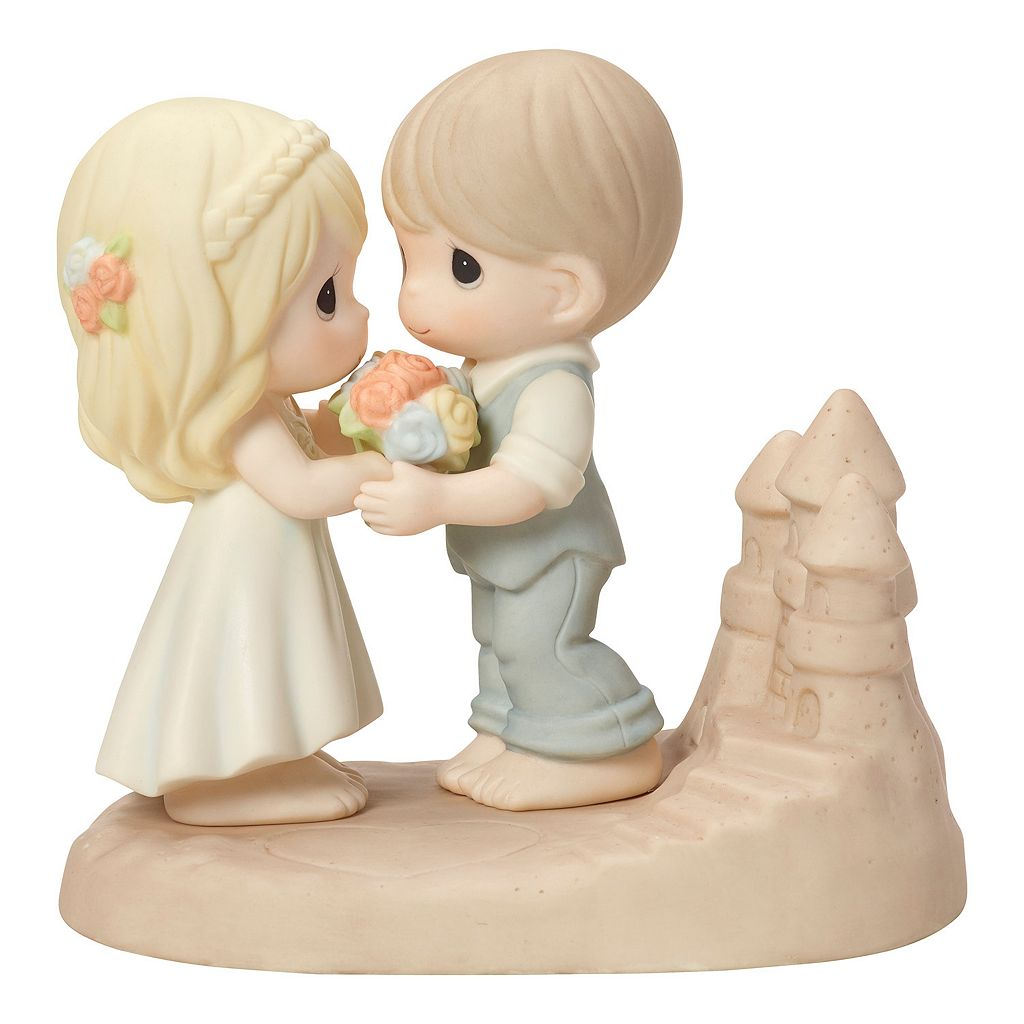 Precious Moments Loving You Is A Dream Come True Couple Figurine
