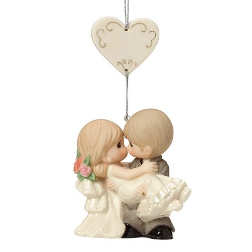 Precious Moments On The Threshold Of A Lifetime Of Happiness Christmas Ornament