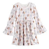 Toddler Girl Jumping Beans® Bell-Sleeve Skater Dress