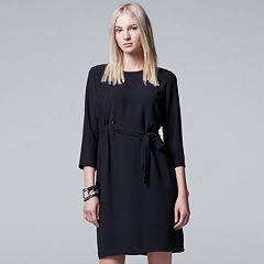 Women's Simply Vera Vera Wang Pintuck Shift Dress