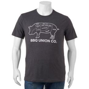 "Big & Tall SONOMA Goods for Life? ""BBQ Union"" Tee"