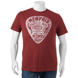 """Big & Tall SONOMA Goods for Life™ """"Memphis Records"""" Tee"""