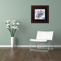 Trademark Fine Art Oceania I Framed Wall Art