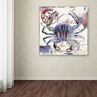 Trademark Fine Art Oceania II Canvas Wall Art