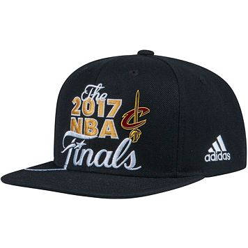 Adult adidas Cleveland Cavaliers 2017 Conference Champions Snapback Cap