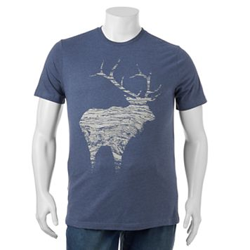 Big & Tall SONOMA Goods for Life™ Wood Elk Tee