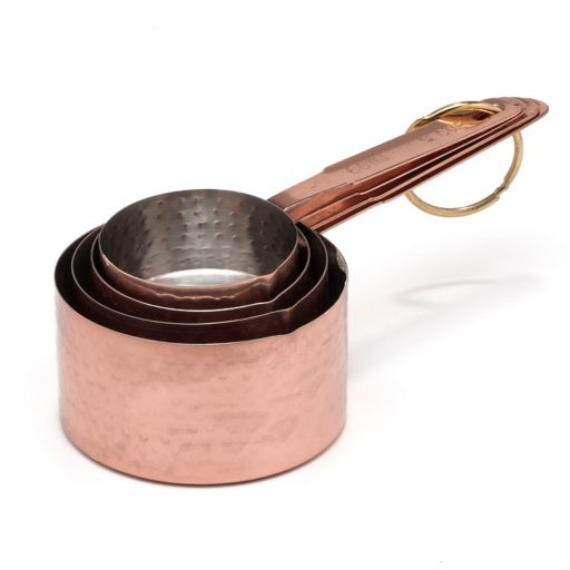 Cambridge 8-pc. Metallic Hammered Measuring Cup & Spoon Set