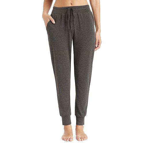 Women's Cuddl Duds Pajamas: Essential Jogger Pants