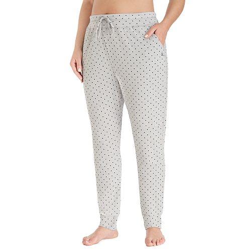Plus Size Cuddl Duds Pajamas: Essential Jogger Pants