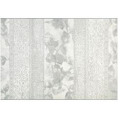 Couristan Marina Valletta Floral Striped Rug