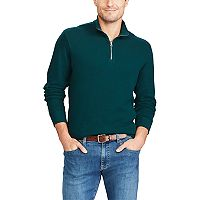 Men's Chaps Classic-Fit Reversible Quarter-Zip Pullover