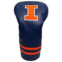 Team Golf Illinois Fighting Illini Vintage Single Headcover