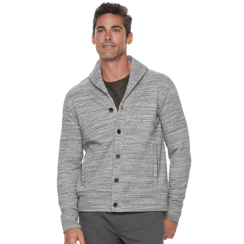 Slim fit fleece jacket