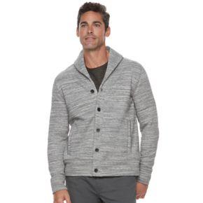 Men's Marc Anthony Slim-Fit Shawl-Collar Sweater Fleece Jacket