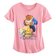 Disney's Beauty and the Beast Belle Girls Plus Size Graphic Tee