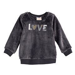 Baby Girl Jumping Beans® Plush Pullover