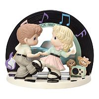 Precious Moments Limited Edition I Love The Way We Rock And Roll Couple Figurine