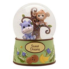 Precious Moments Precious Paws 'Sweet Dreams' Musical Safari Snow Globe