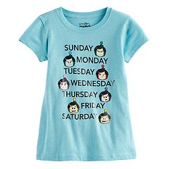 Girls 7-16 Hanazuki 'Weekly Mood' Graphic Tee
