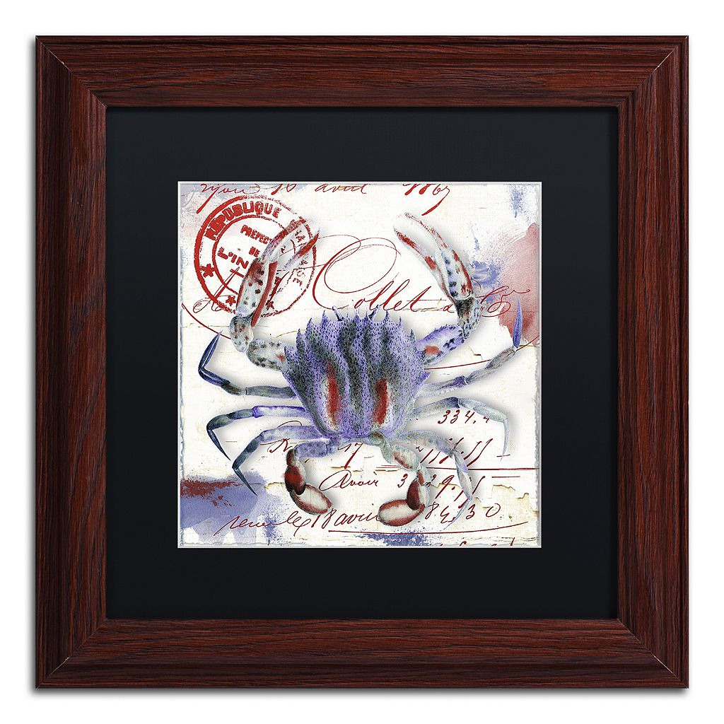 Trademark Fine Art Oceania II Framed Wall Art