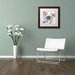 Trademark Fine Art Oceania II Framed Wall Art