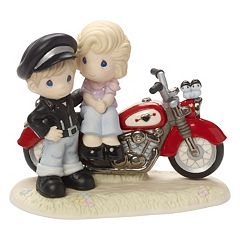 Precious Moments Limited Edition You're My Road To Happiness Couple Figurine