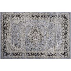 Couristan Zahara All-Over Sarouk Framed Floral Rug