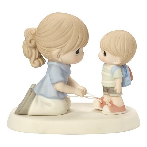 Precious Moments Love Ties Us Together Mother & Son Figurine