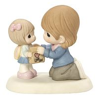 Precious Moments My Heart Goes With You Mother & Daughter Figurine