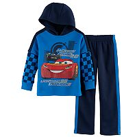 Disney / Pixar Cars 3 Boys 4-7 Jackson Storm & Lightning McQueen Hoodie & Pants Set