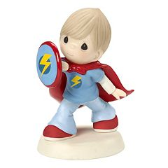 Precious Moments You're The Strongest Person I Know Boy Figurine