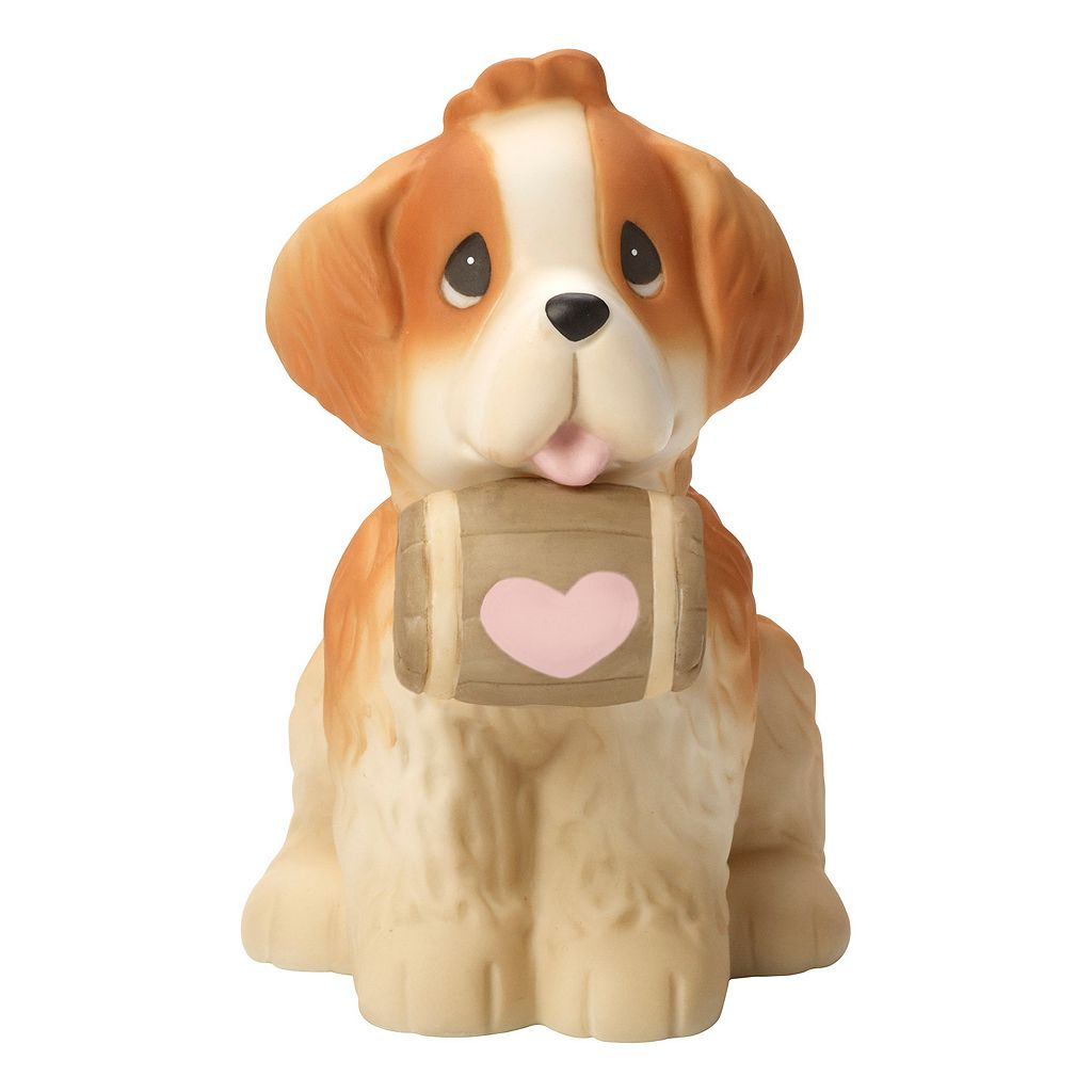 Precious Moments You're A Life Saver Saint Bernard Figurine