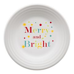 Fiesta 'Merry and Bright' Luncheon Plate