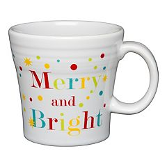 fiesta merry and bright tapered mug - Cheap Christmas Mugs