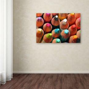 Trademark Fine Art Pencils Canvas Wall Art