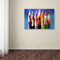 Trademark Fine Art Pencils 2 Canvas Wall Art