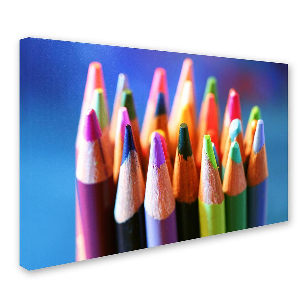 Trademark Fine Art Pencils 2 Canvas Wall Art