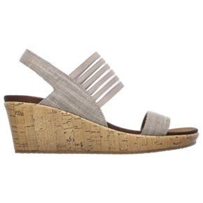 Skechers Beverlee Smitten Kitten Women's Wedge Sandals