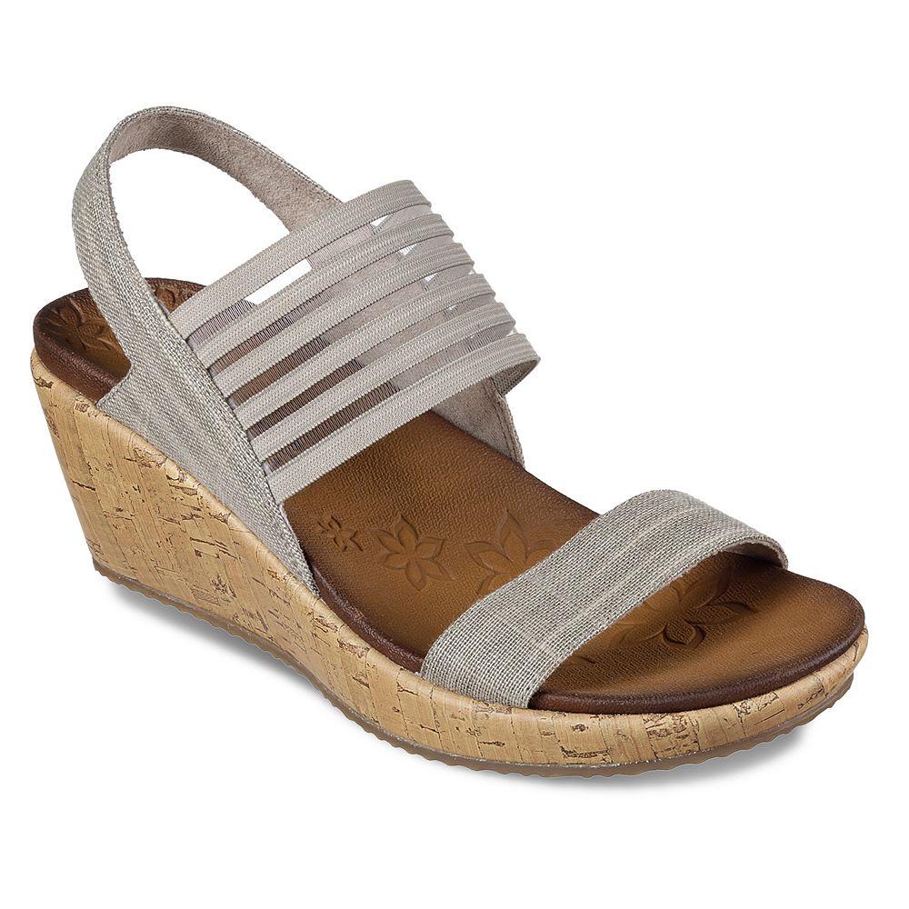 d10486baf899 Skechers Beverlee Smitten Kitten Women s Wedge Sandals