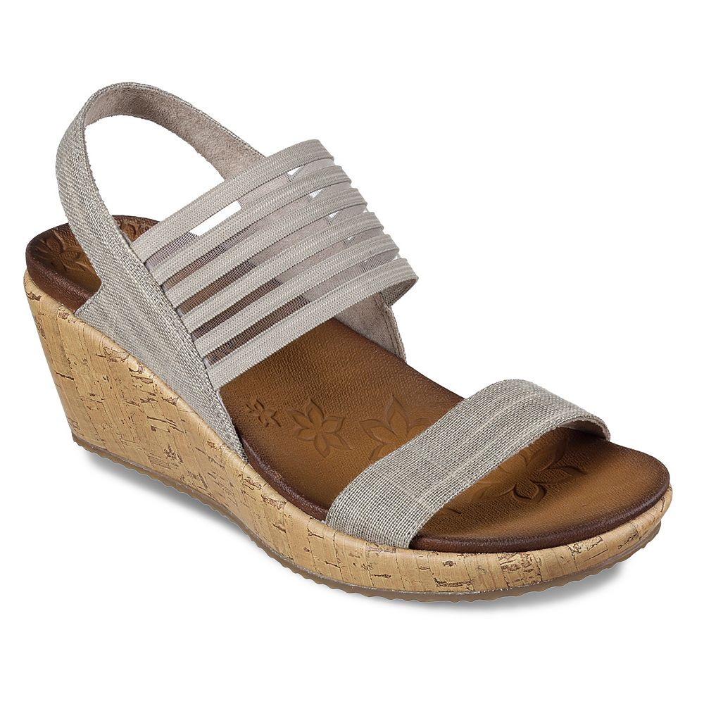 1435f04f737e Skechers Beverlee Smitten Kitten Women s Wedge Sandals