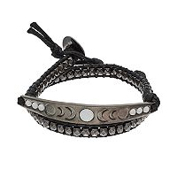Mudd® Crescent Beaded Wrap Bracelet