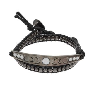 Mudd® Crescent Beaded Wrap Bracelet